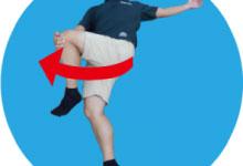 4.腰のストレッチ