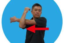 10.肩のストレッチ