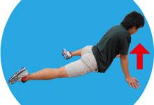 11.腸腰筋のストレッチ