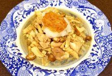 ~旬のきのこ料理を作ろう~ きのこと鶏のなめたけおろしポン酢