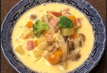 鉄分補給!野菜たくさん豆乳スープ♪